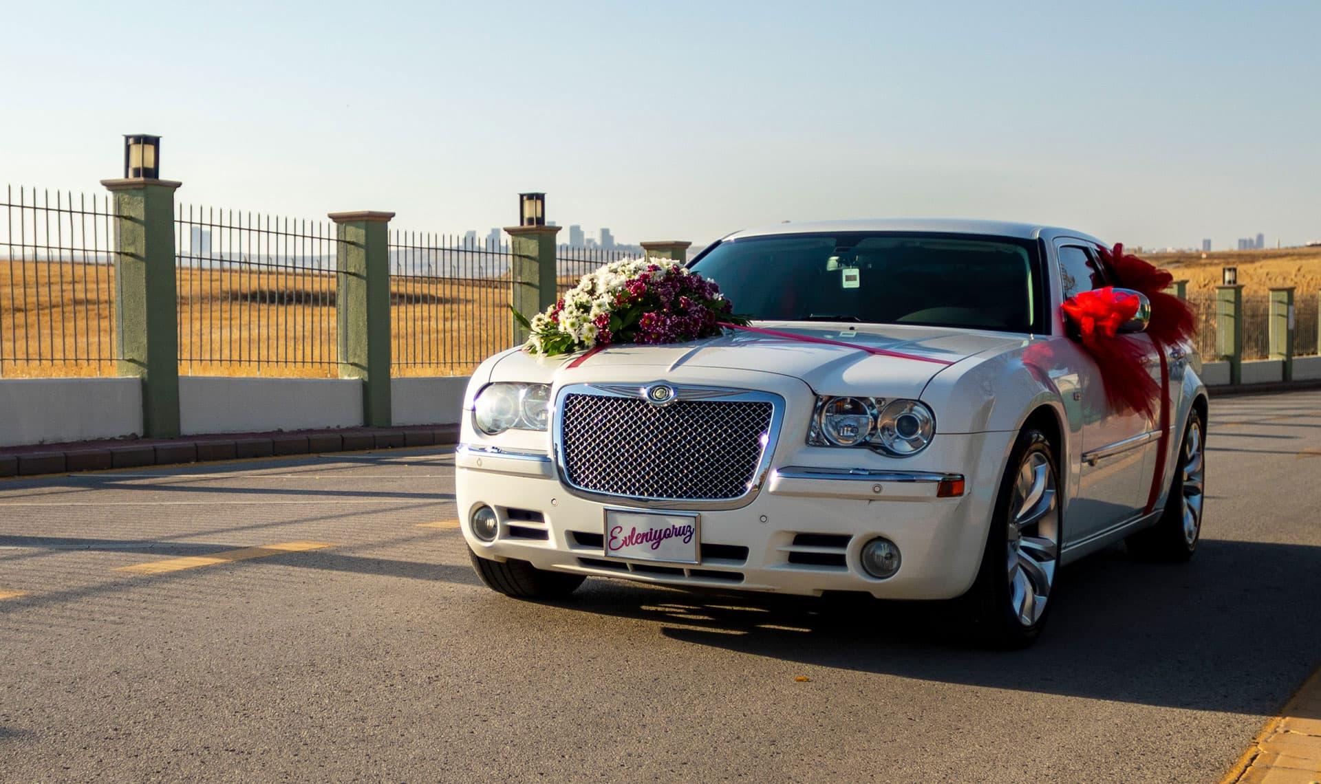 Chrysler 300C gelin arabası