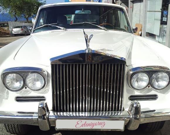 Rolls Royce düğün arabası